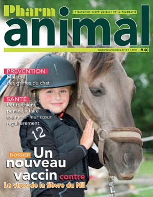 Magazine Pharmanimal N°40 - Septembre/Octobre 2012